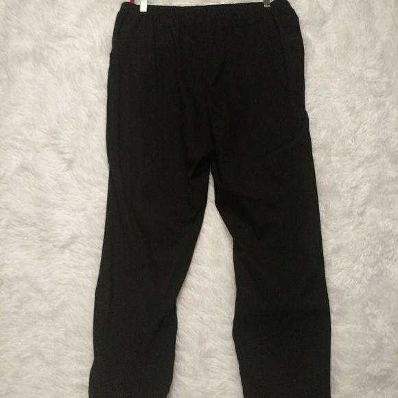 8d2babad61fb0 Just My Size Pants - Just My Size 2-Pocket Flat-front Black Pants